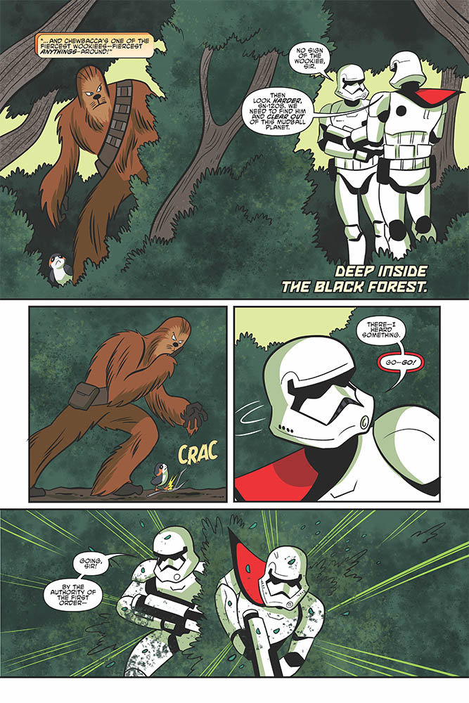 A page from Star Wars Adventures #28.