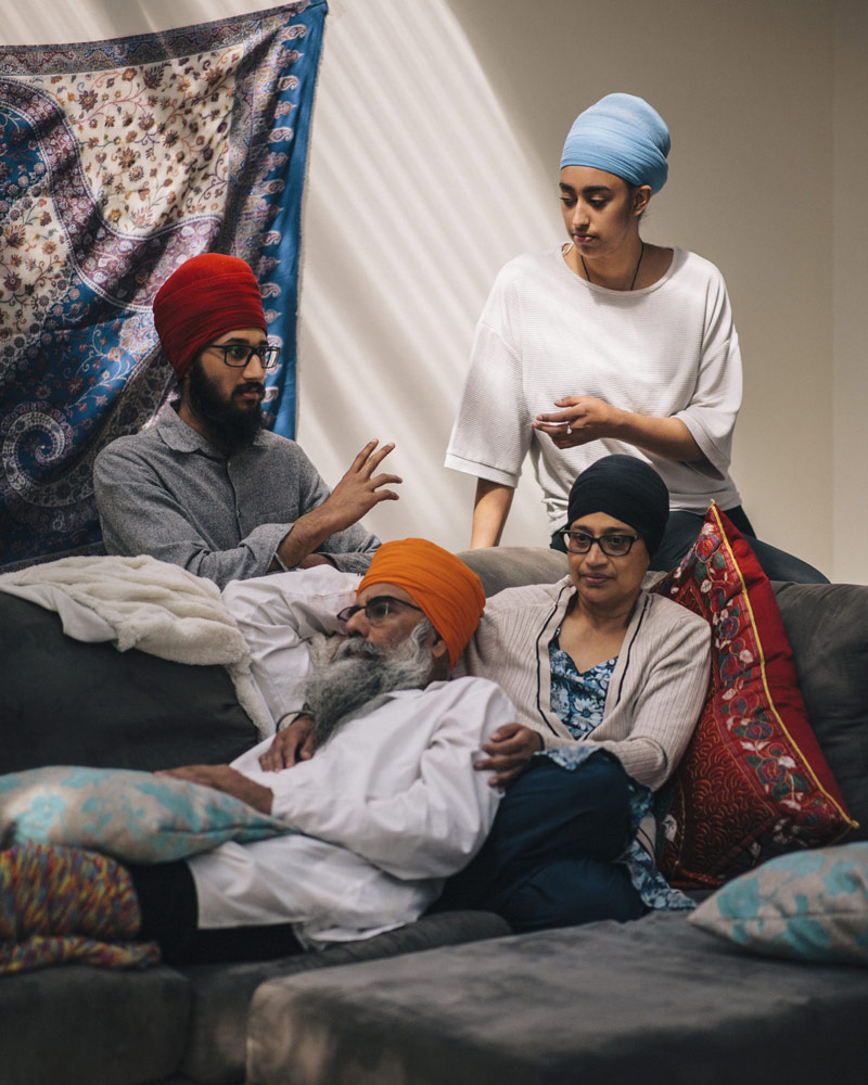 The Singh family, Australia