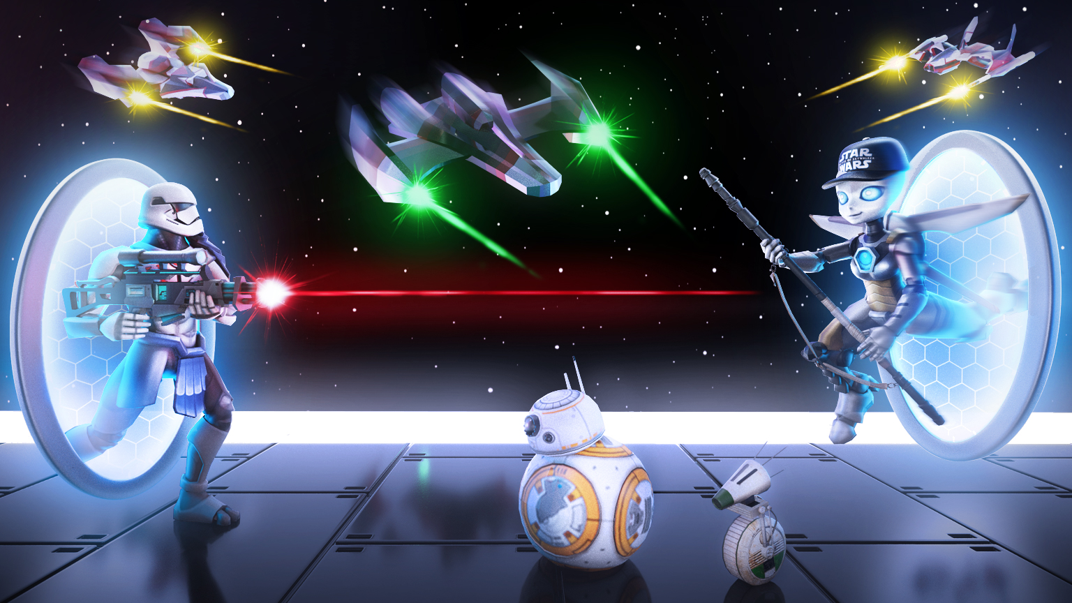 Star Wars And Roblox Join Forces For The Galactic Speedway Creator
