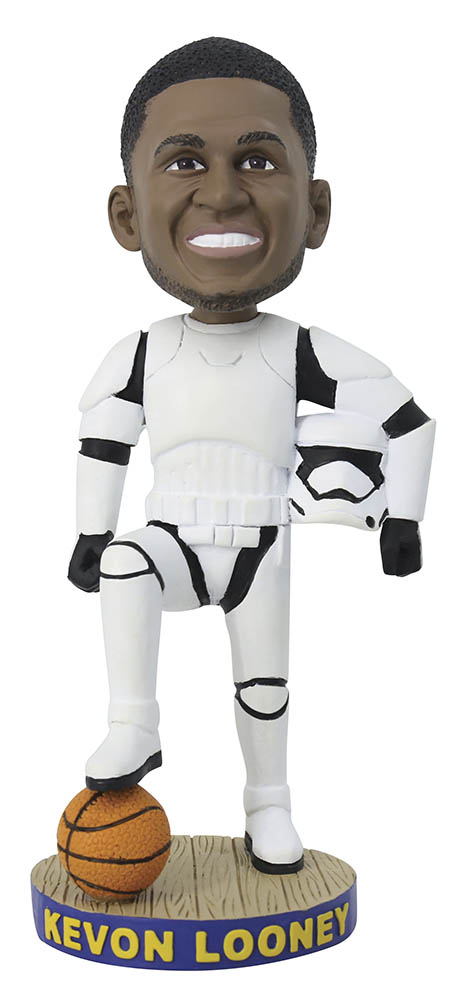 Golden State Warriors - Kevon Looney stormtrooper bobblehead giveaway