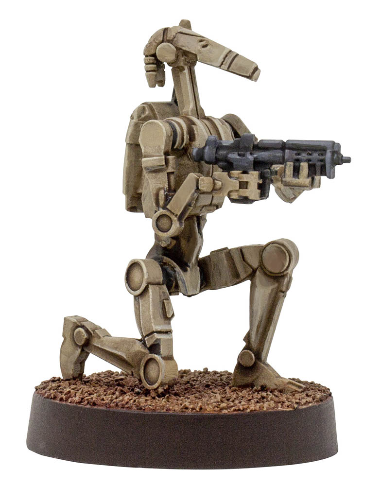 The Clone Wars Core battle droid