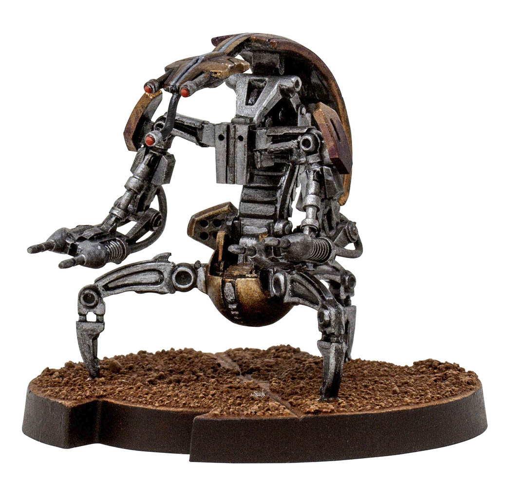 The Clone Wars Core Set destroyer droid