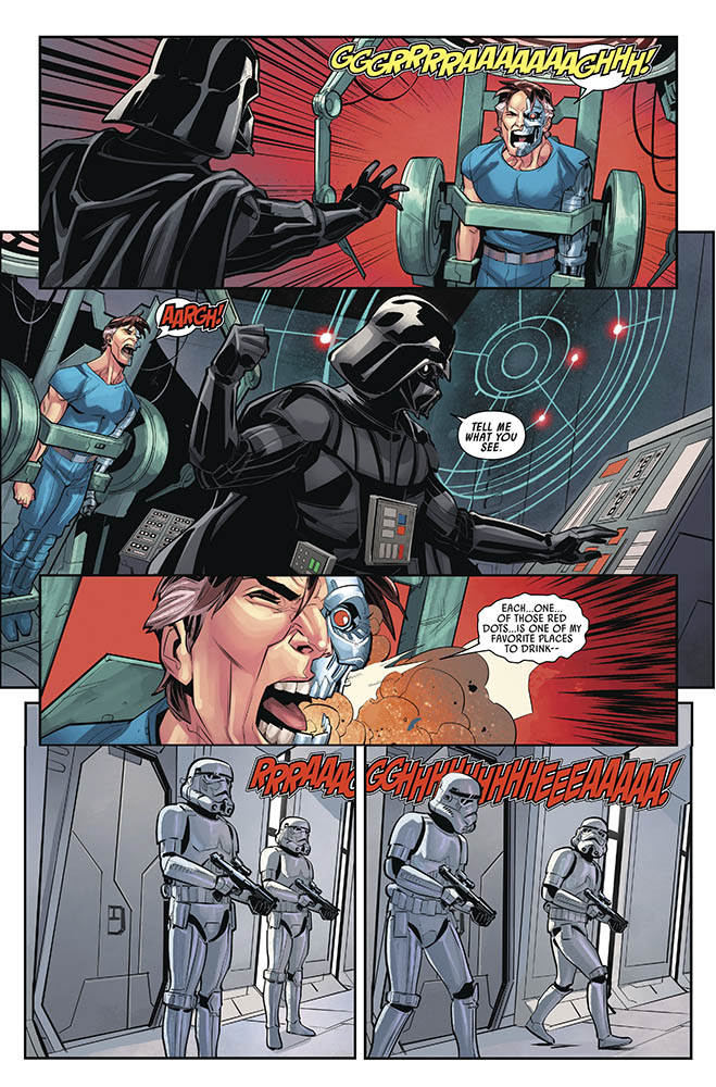 A page from Target Vader issue #5.