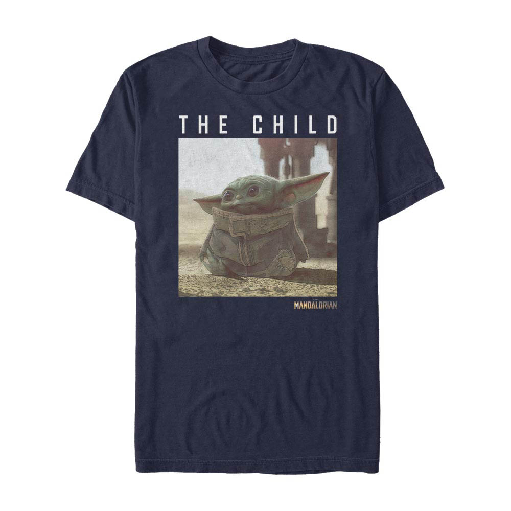 A shirt featuring The Child