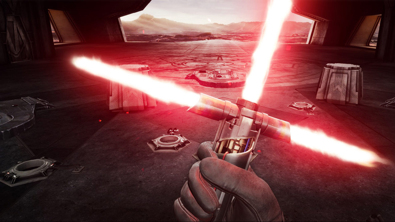 Kylo Ren lightsaber in Vader Immortal: Episode III