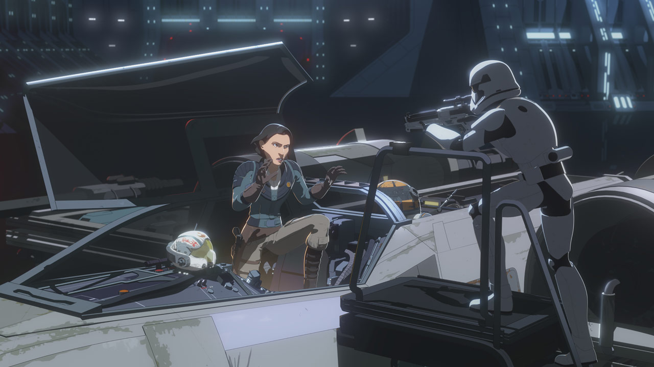 Venisa Doza captured in Star Wars Resistance