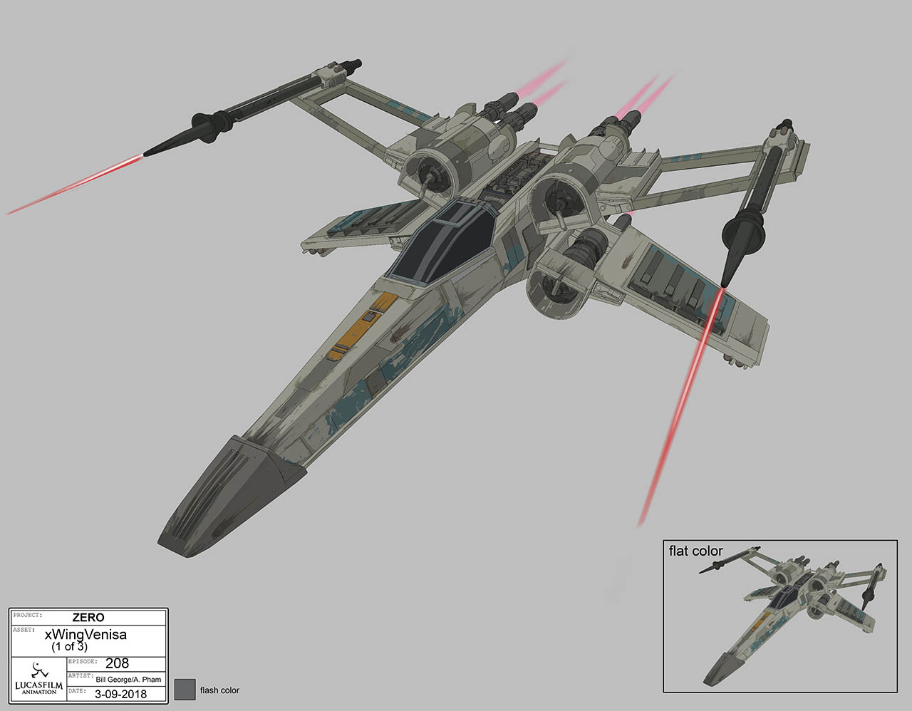 Venisa starfighter concept art