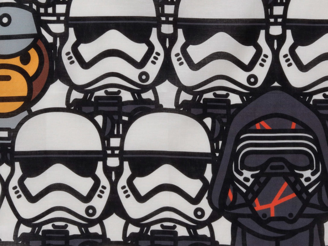 A Bathing Ape's new Star Wars line.