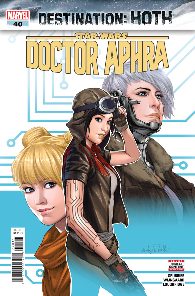 The cover of Doctor Aphra issue #40.