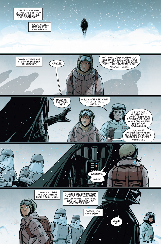 A page from Doctor Aphra issue #40.