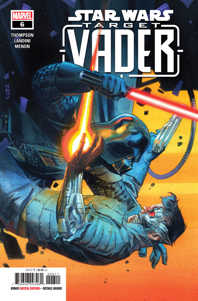 The cover of Target Vader issue #6.