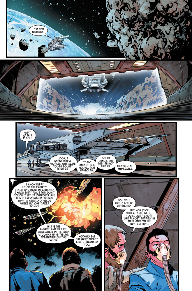 A page from Target Vader issue #6.