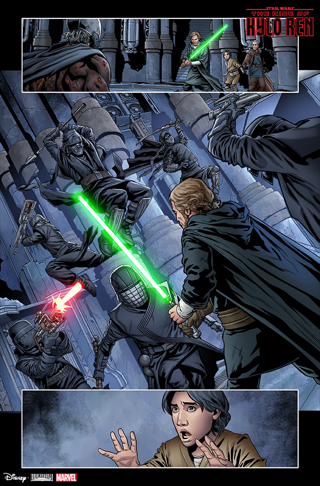 Pages from The Rise of Kylo Ren #2