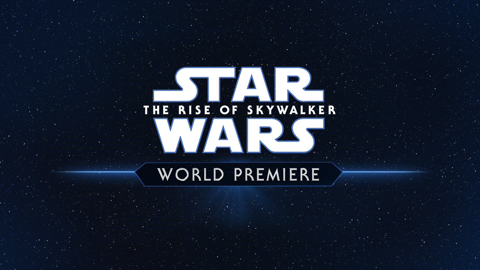 Star Wars: The Rise of Skywalker world premiere.
