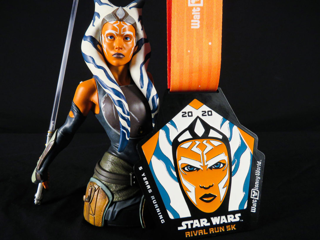 runDisney Star Wars Rival Run Weekend - Ahsoka Tano 5K medal