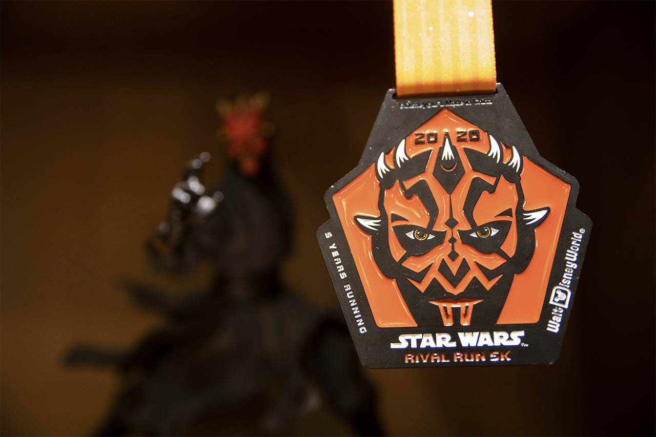 runDisney Star Wars Rival Run Weekend - Darth Maul 5K medal