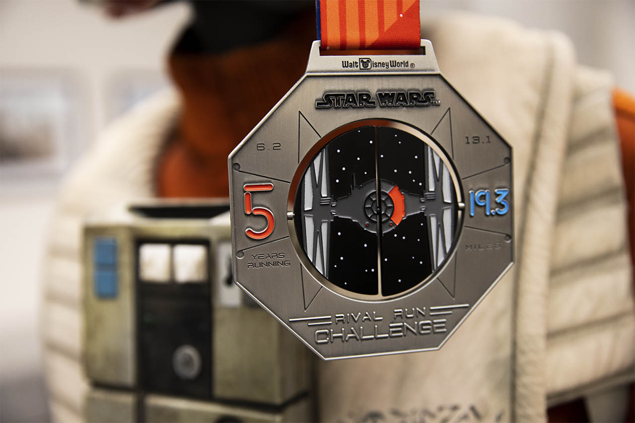 runDisney Star Wars Rival Run Weekend - Rival Run Challenge TIE fighter medal