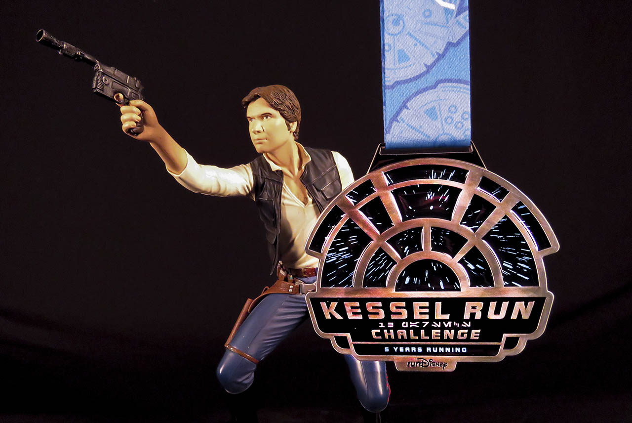 runDisney Star Wars Rival Run Weekend - Kessel Run Challenge medal
