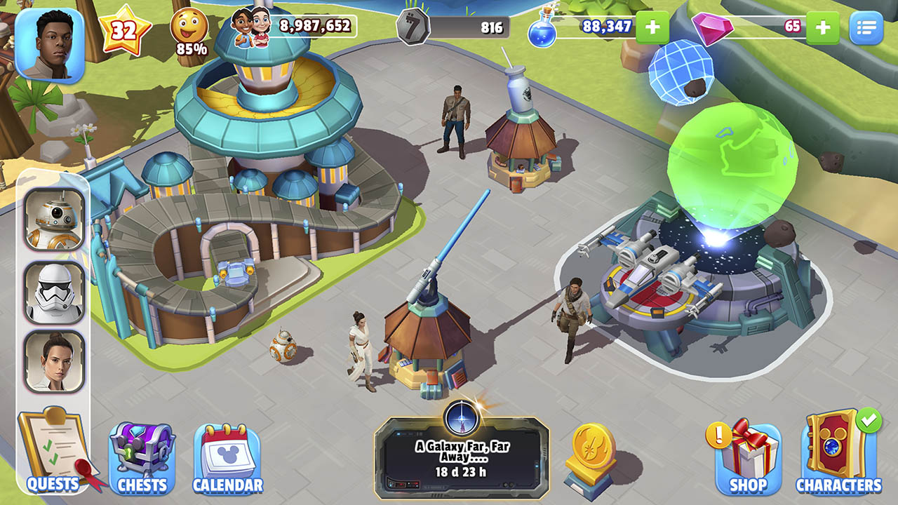 Disney Magic Kingdom gameplay