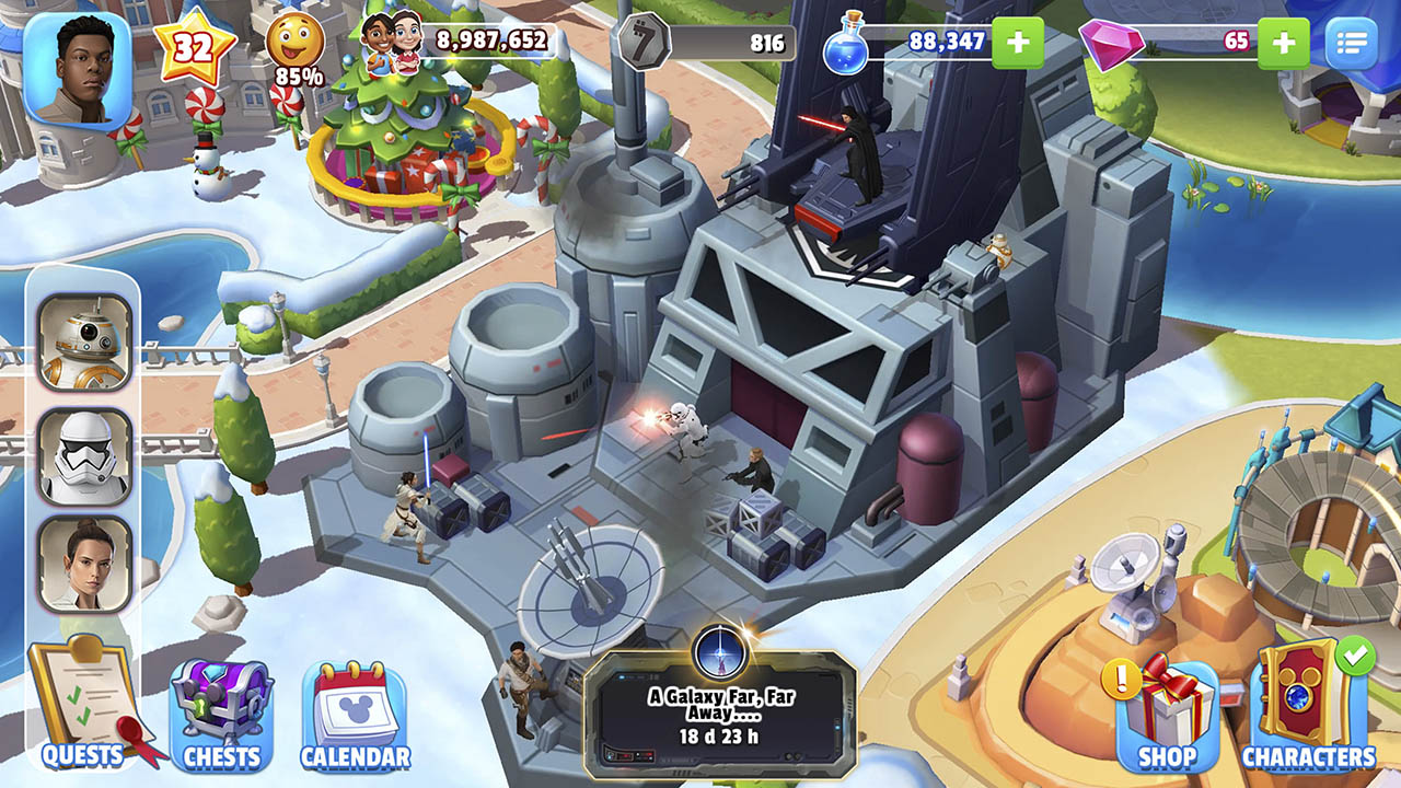 Disney Magic Kingdom gameplay park