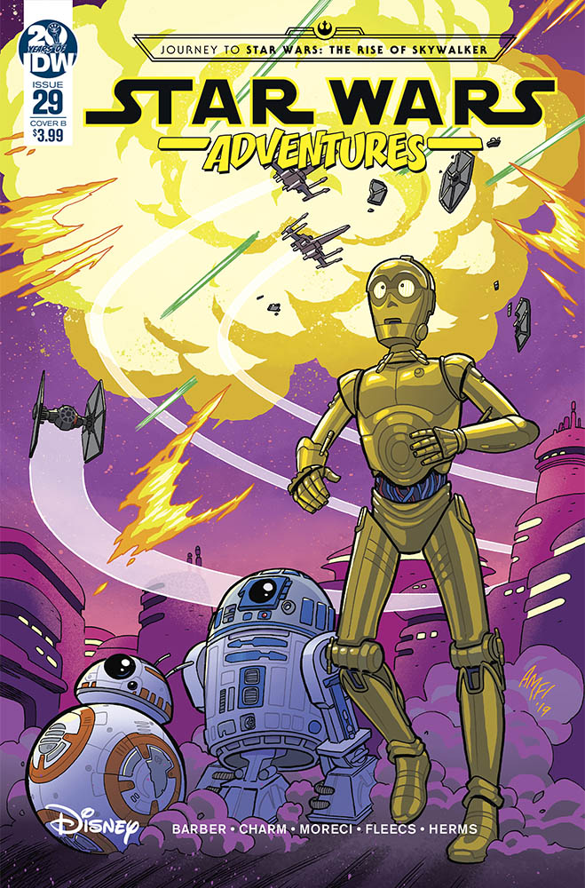 Star Wars Adventures #29 cover