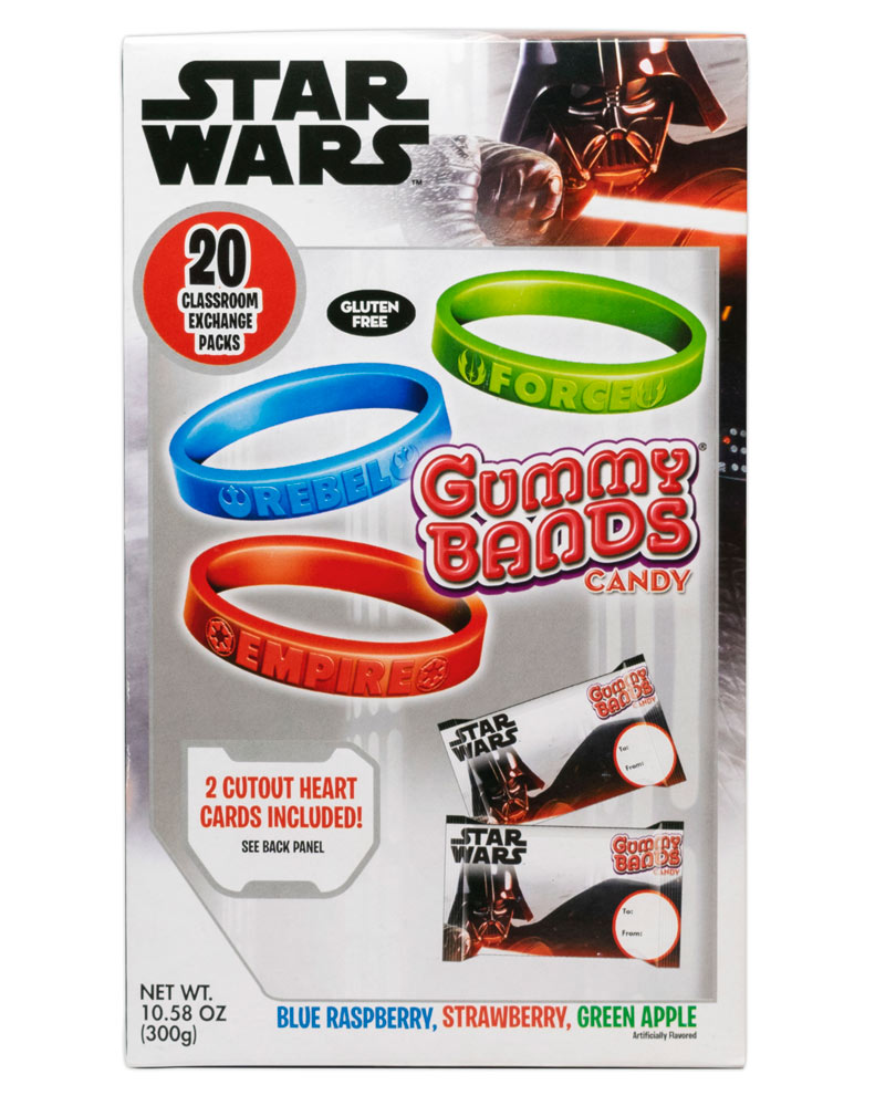 Flix Candy Star Wars gummy bands