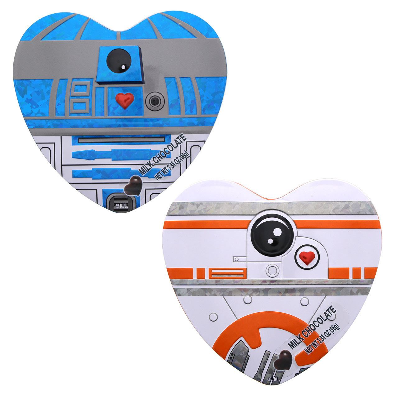 Galerie droid valentines day box