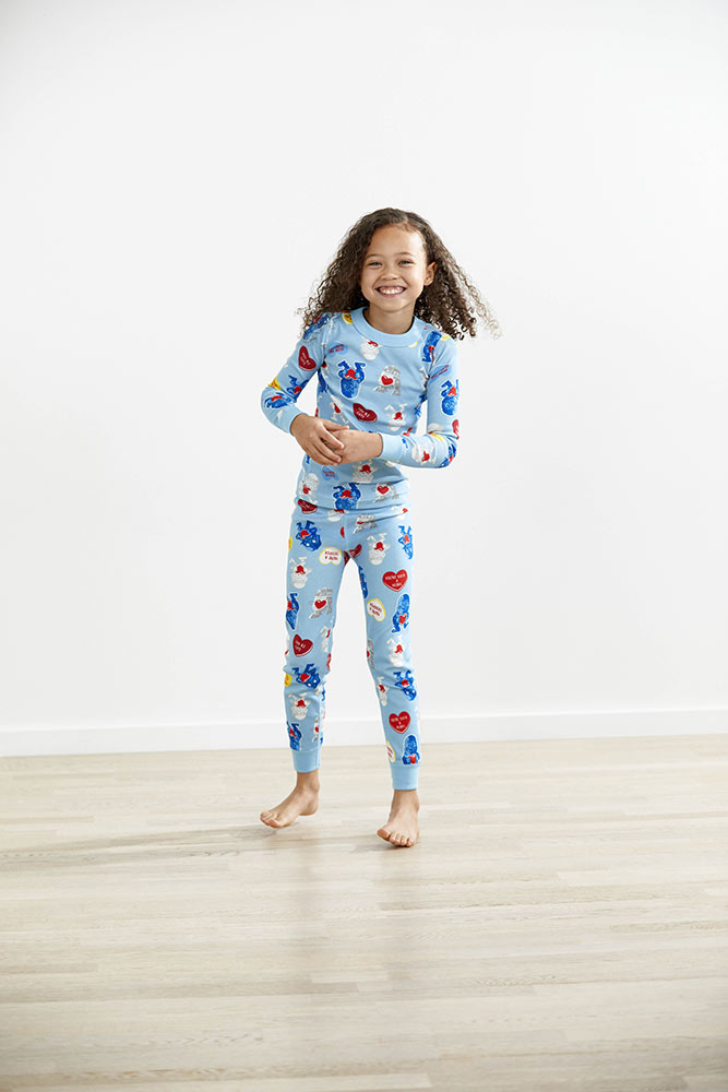 Hanna Anderson Star Wars themed pajamas light blue