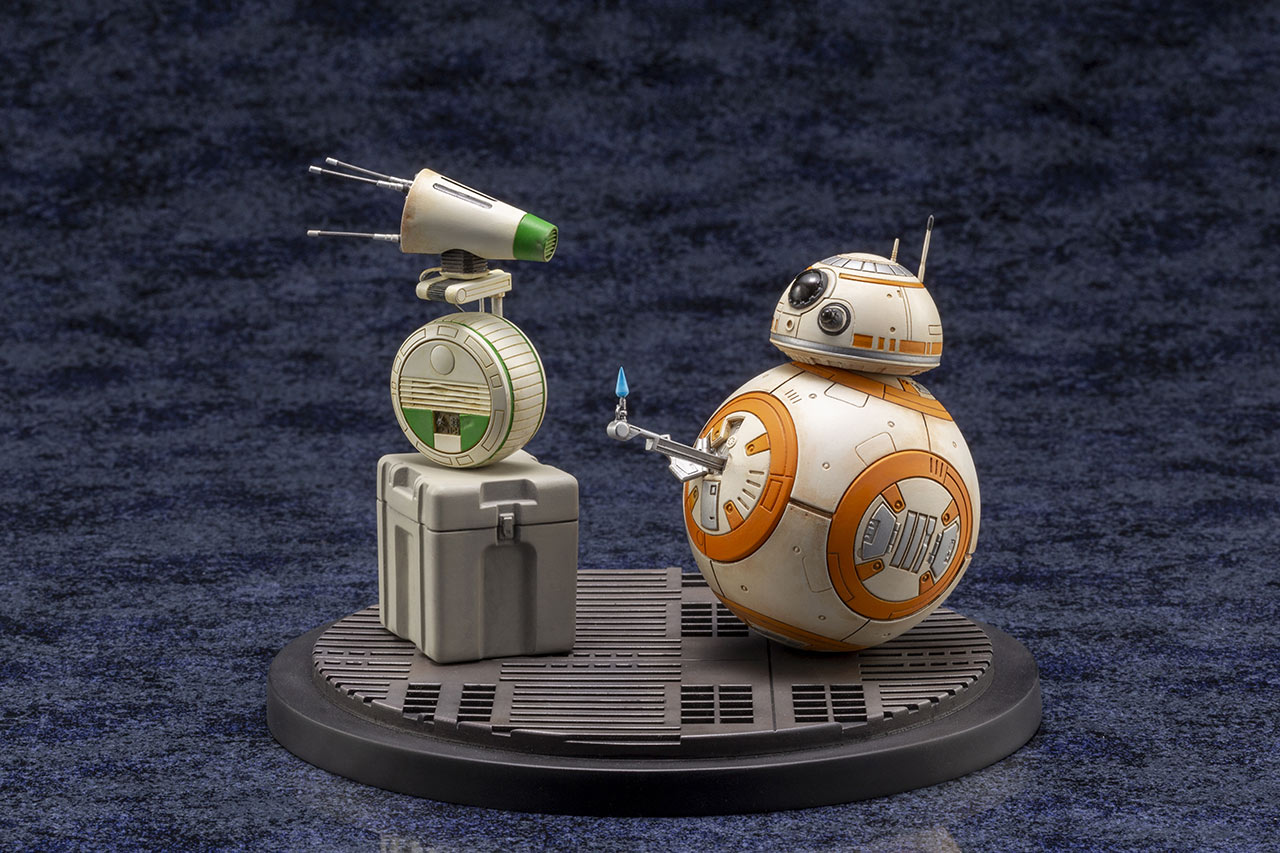 Kotobukiya Star Wars droid statue
