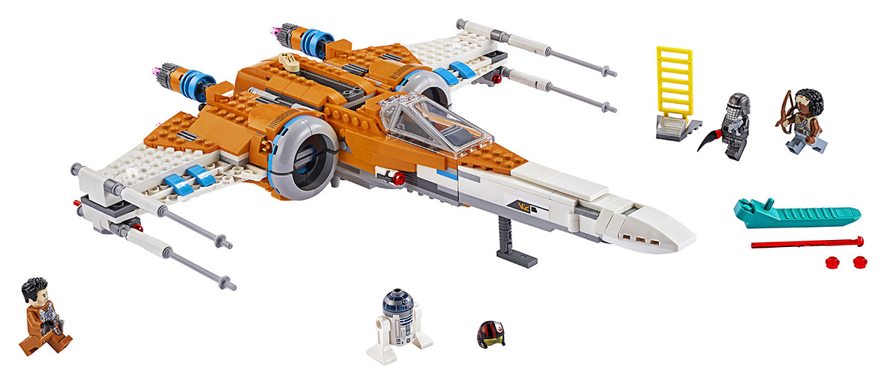 LEGO Poe Dameron X-Wing from The Rise of Skywalker