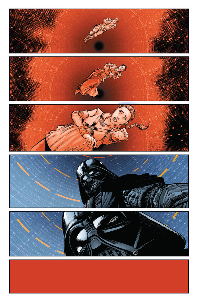 Marvel's Darth Vader #1 - Vader remembers his mother and wife