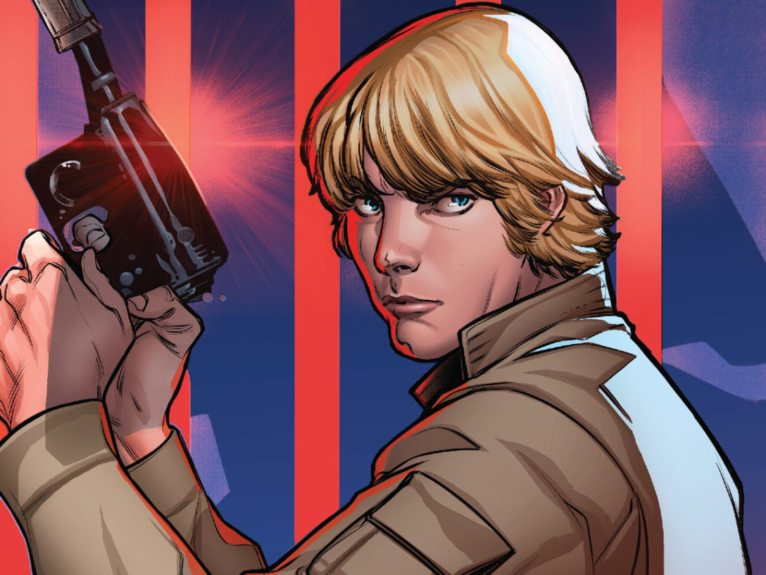 Luke Skywalker from the cover of Star Wars #2