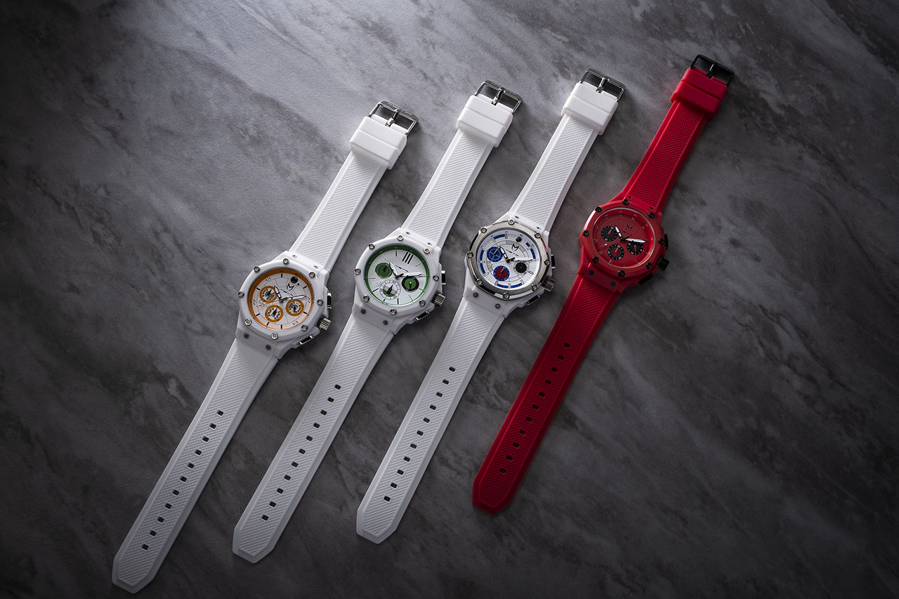 Star Wars Meister droid and sith trooper inspired watches