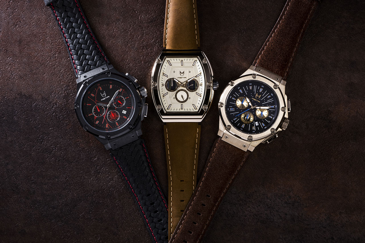 Star Wars Meister Kylo Ren, C-3PO, and Jedi inspired watches