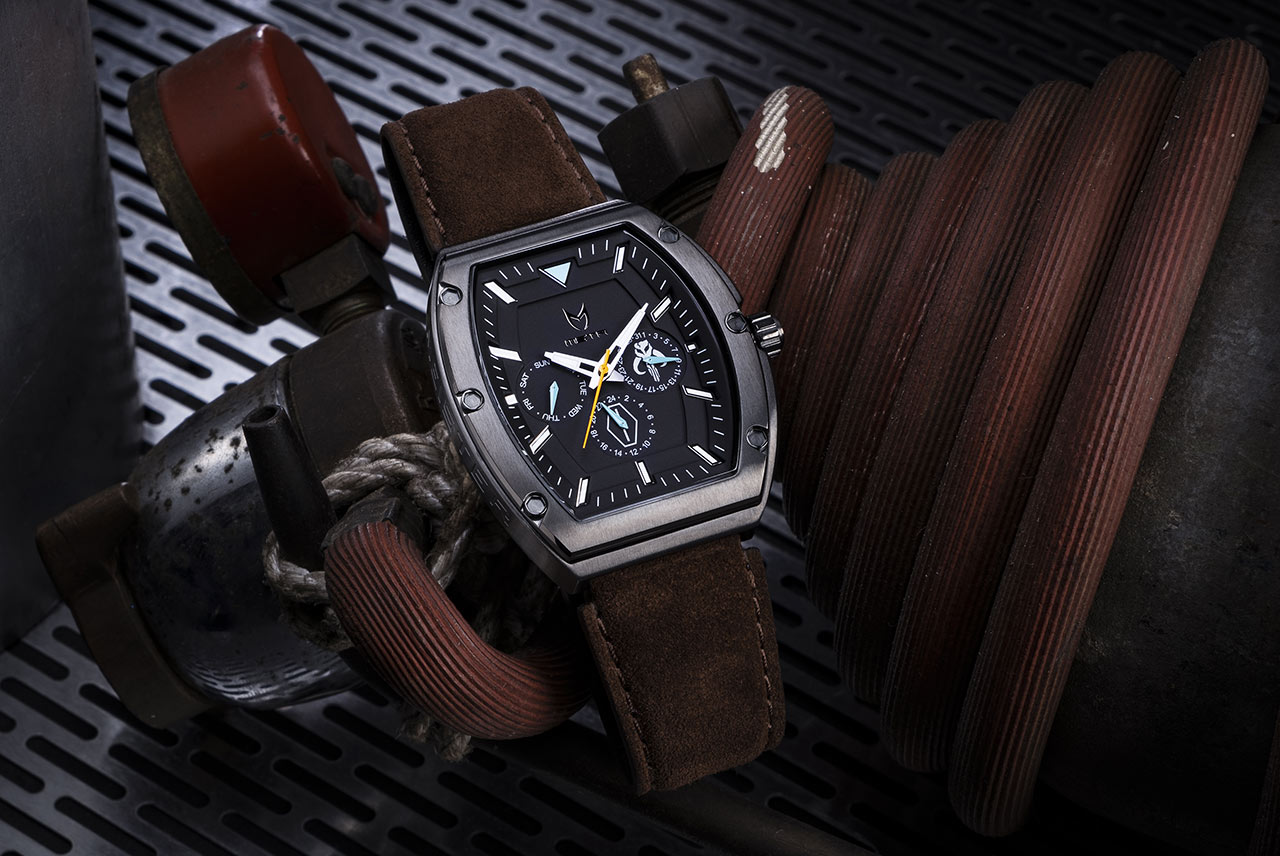 Star Wars Meister The Mandalorian inspired watch