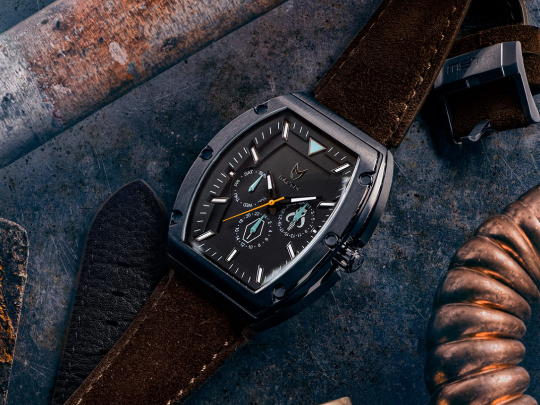 Star Wars Meister The Mandalorian inspired watches