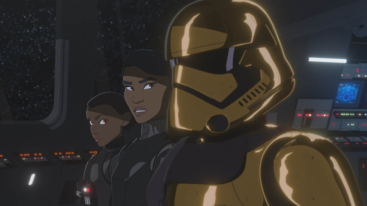 The First Order in the second season of Star Wars Resistance.