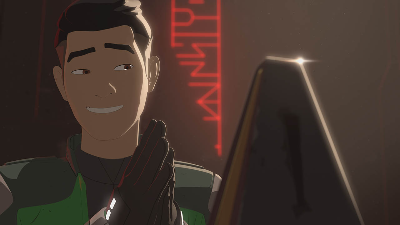 Kaz in the second season of Star Wars Resistance.