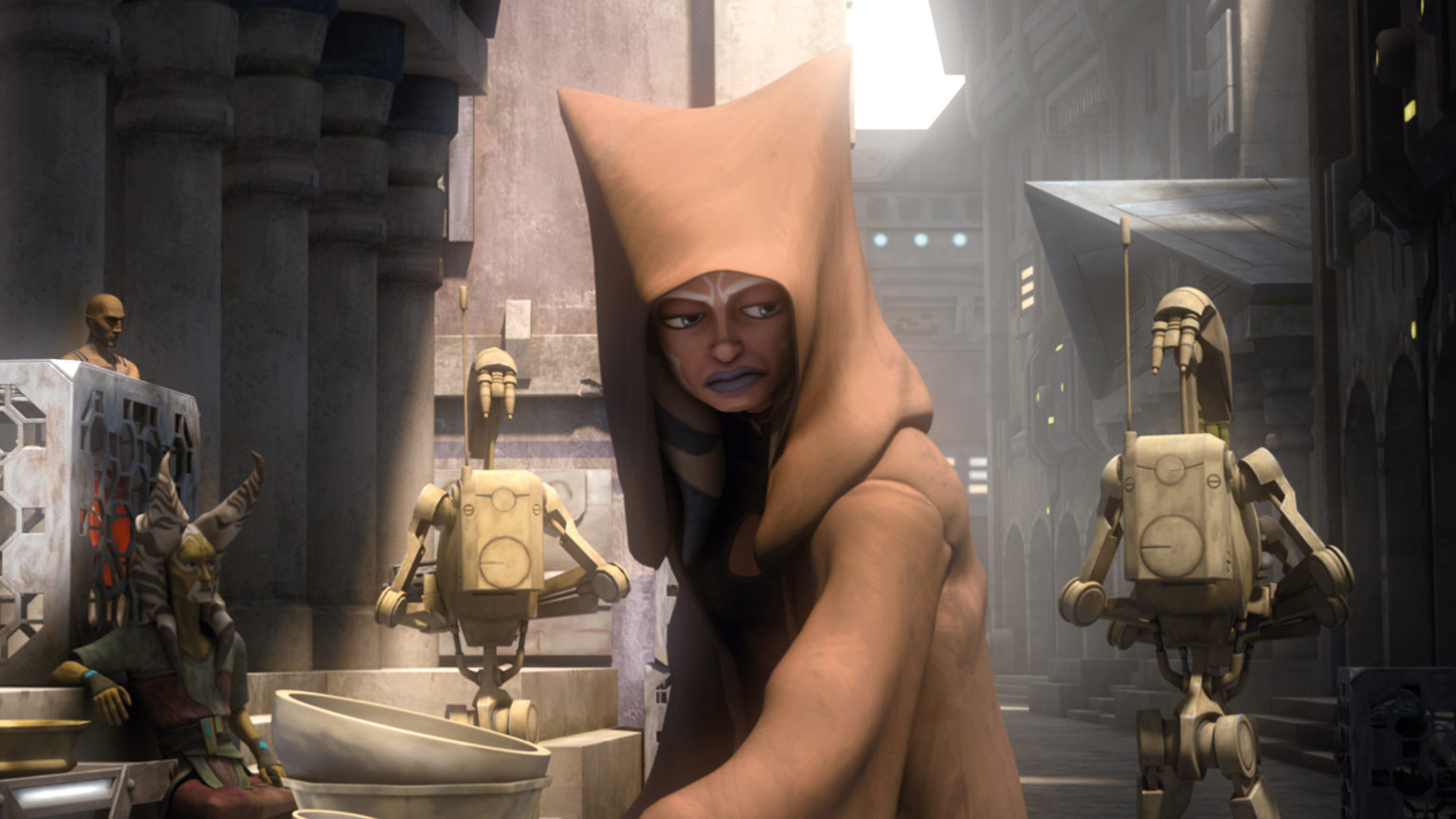 Ahsoka in The Clone Wars