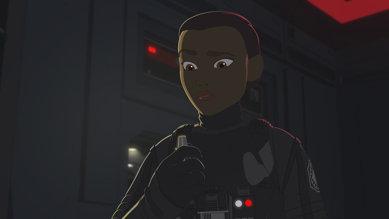 Tam in the second season of Star Wars Resistance.