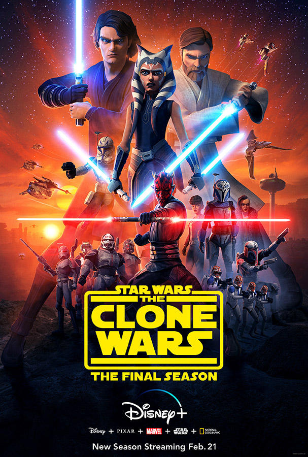 Star Wars: The Clone Wars final season poster