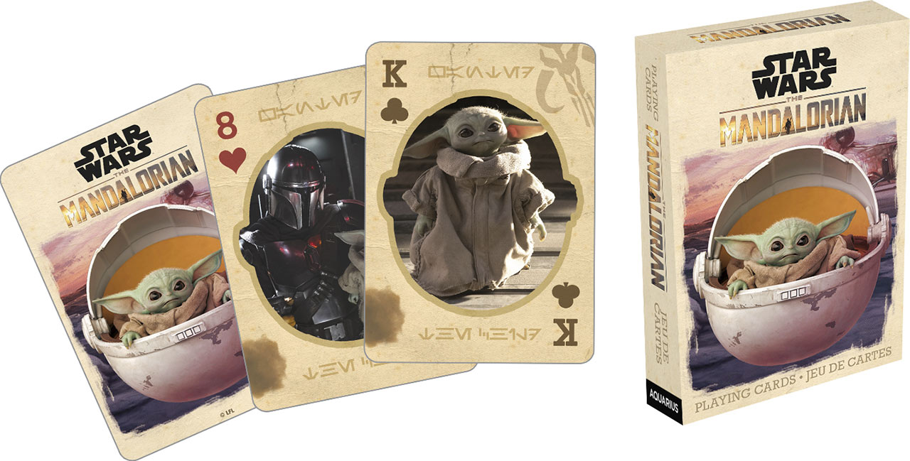 Baraja de cartas The Mandalorian + The Child 52