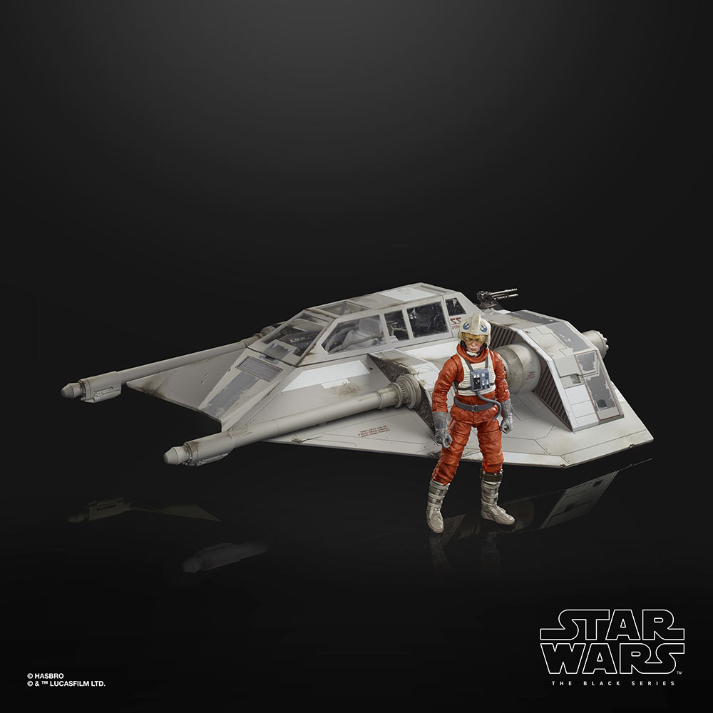 Black Series Dak with Snowspeeder