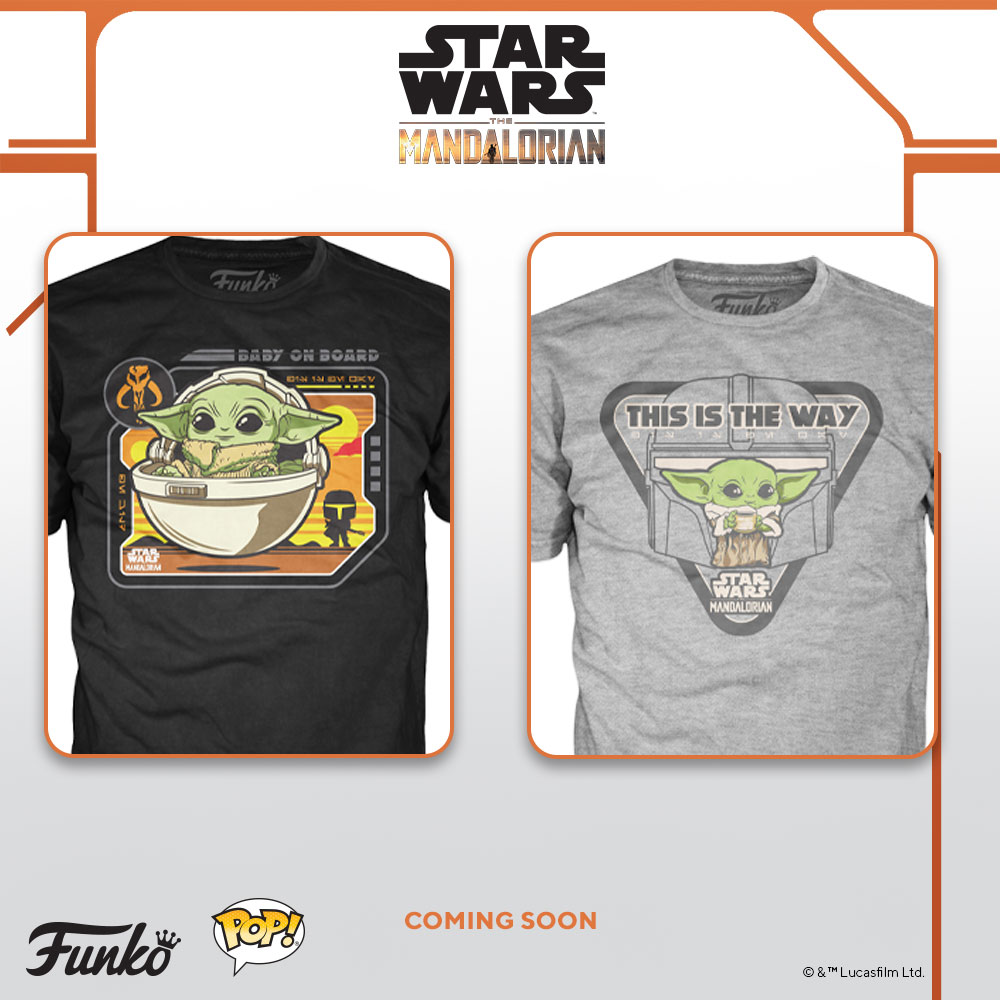 The Child tees from Funko