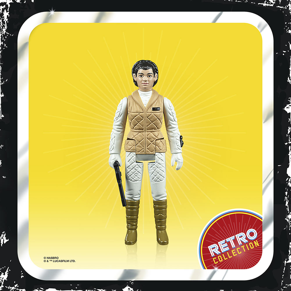 Leia (Hoth) from Hasbro's Retro Collection