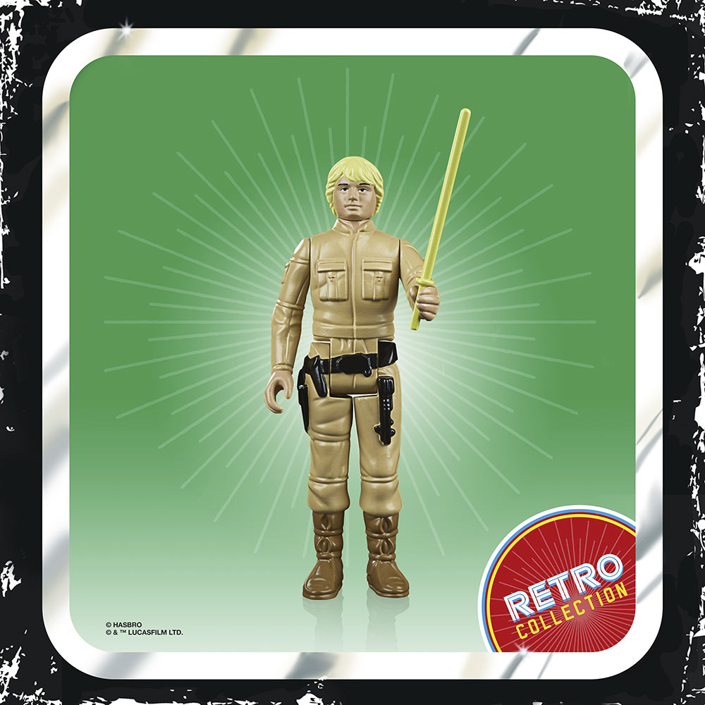 Luke Skywalker (Empire Strikes Back) from Hasbro's Retro Collection