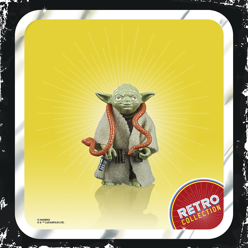 Yoda from Hasbro's Retro Collection