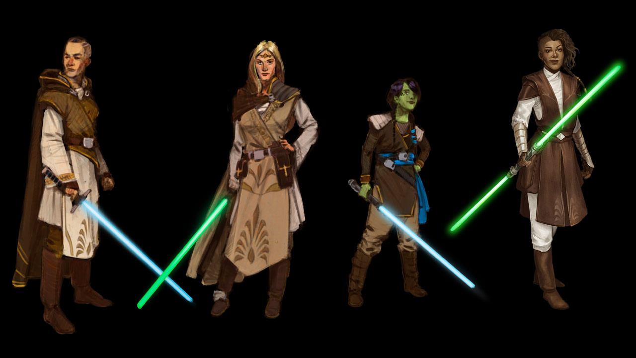 Star Wars: The High Republic - Jedi mission attire concept art