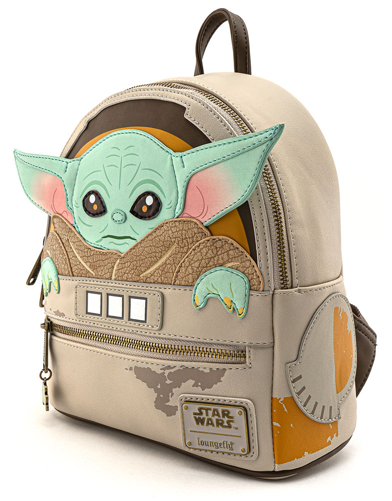Loungefly mini mochila Mandalorian The Child Cradle
