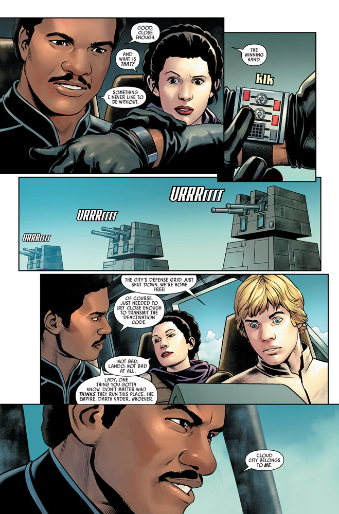 Marvel's Star Wars #3 page 4
